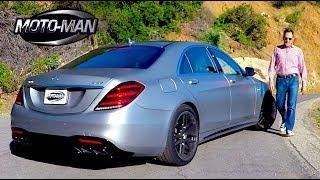 видео Mercedes-Benz S 63 AMG