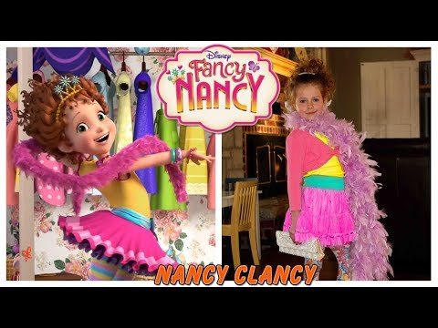 Disney Fancy Nancy 2018 Characters in Real Life - Behind the Voices