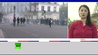 Корреспондент RT рассказывает о ситуации в Париже в день президентских выборов