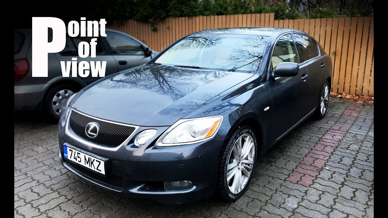 2007 Lexus Gs 450h President One Of The First Luxury Hybrids Pov Review