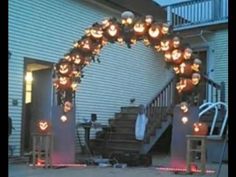 This Is Halloween Pumpkin Arch Youtube