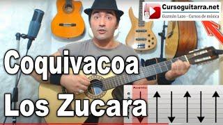 Como tocar Coquivacoa - Los Zucara - Canción facil en guitarra