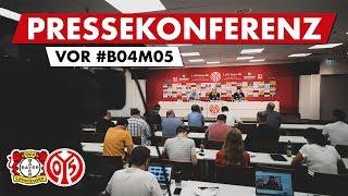 Pressekonferenz vor Leverkusen | #B04M05 | 05er.tv