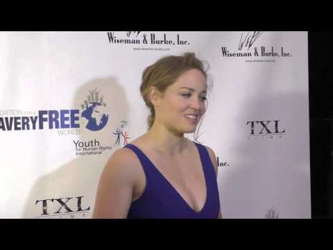 Erika Christensen at the Marisol Nichols Presents The Human Rights Hero Awards at Beso Restaurant in