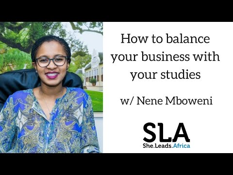 Webinar with Nene Mboweni: Balancing your business & your st