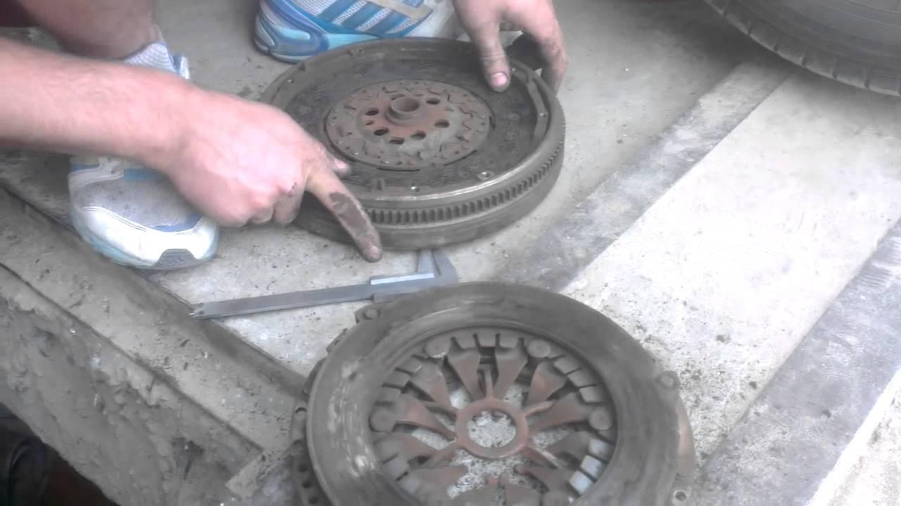 Восстановление маховика VW CADDY 1.9 BLS