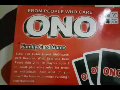 How to play ONO!!(IN JUST 5 MINUTES)