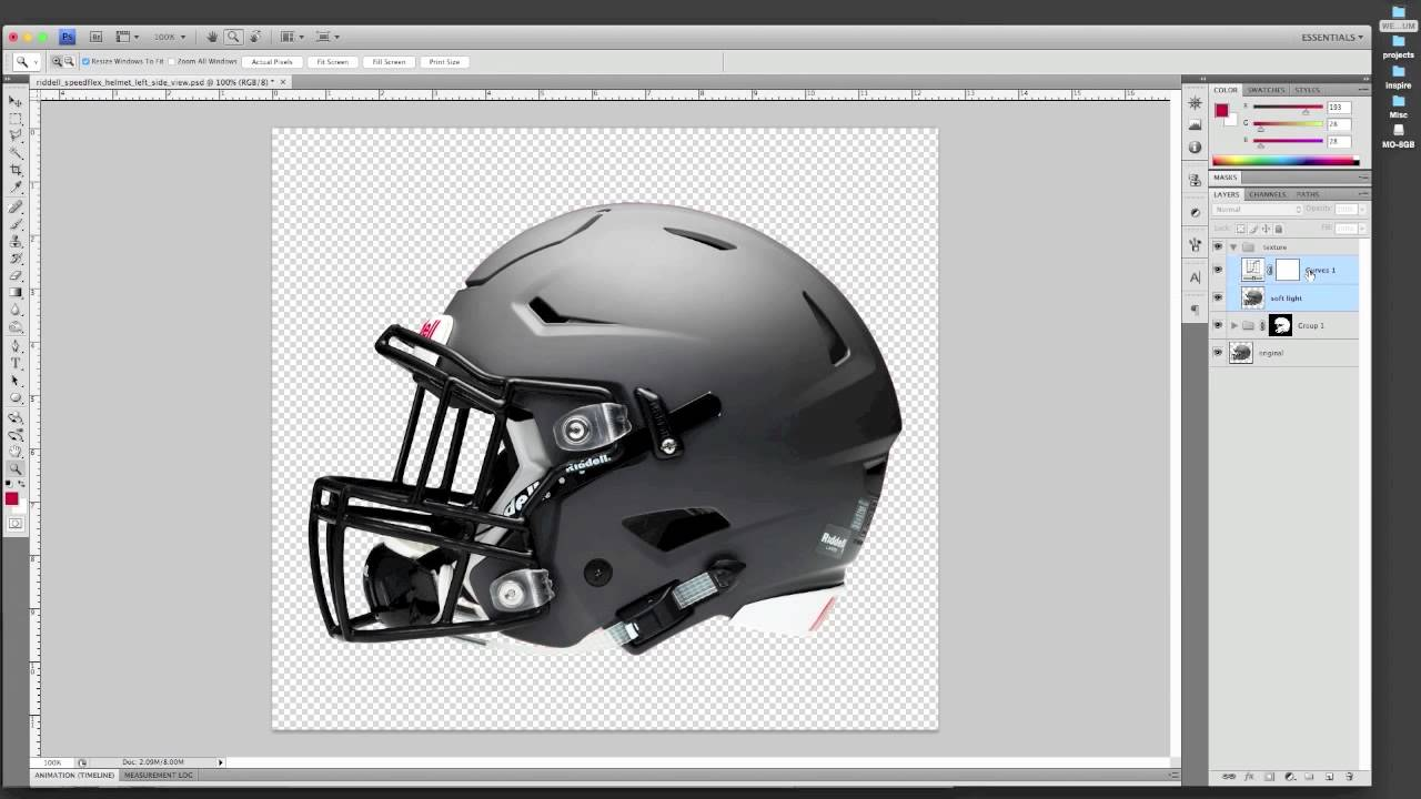 how to make a psd helmet mockup youtube