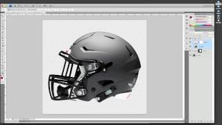 How to Make a PSD Helmet Mockup
