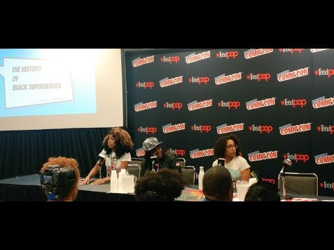 Black Superheroes:  Luke Cage to Black Lives Matter Panel NYCC 2017
