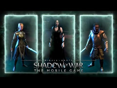 Starting Shadow Of War (Mobile) With Commentary