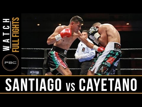 Cayetano vs Santiago FULL FIGHT: September 16, 2016 - PBC on Bounce