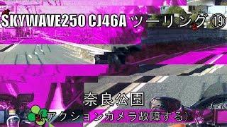 スカイウェイブ250 CJ46A ツーリング ⑲ 奈良公園( アクションカメラ故障する) thumbnail