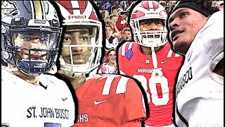 St. John Bosco v Mater Dei  SQUARE OFF for #1 Team in the Nation | Highlight Mix