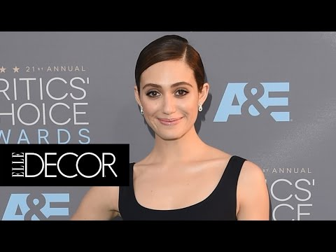 Pied-A-Teardown with Emmy Rossum | ELLE Décor