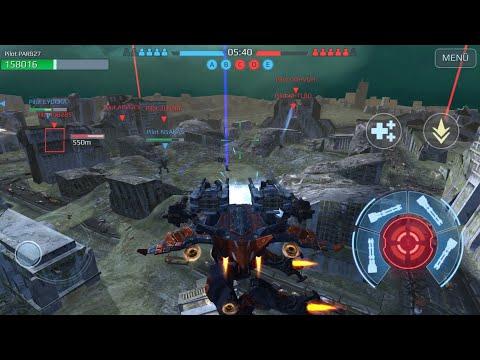 War Robots Testserver Testing Ao Ming Titan