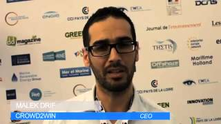 Thetis EMR 2015 - Interview de Malek DRIF (Président de Crowd2Win)