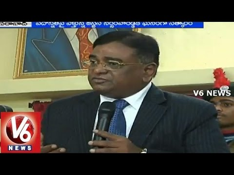 BR Ambedkar Law College felicitates Justice Narasimha Reddy - Hyderabad
