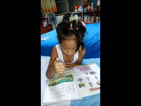 น้องขิมสอนการอ่านนิทานใบโบก ใบบัว...