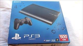 PS3 SUPER SLIM 500GB UNBOXING AND PS3 SET UP I TOMB RAIDER: TRILOGY LEGEND