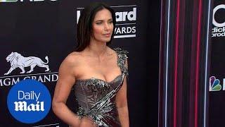 Padma Lakshmi looks amazing in metallic at the Billboard Awards - Daily Mail
