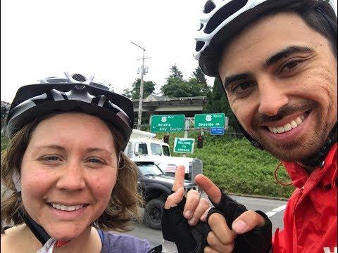 Cycling across the USA - Goodbye Washington. Hello Oregon!