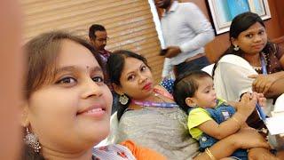 Fan Girl Moment with my favorite Telugu YouTuber Sireesha and her cute little sister Hareesha @BZA