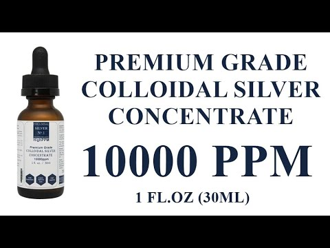 Colloidal Silver Concentrate 10000ppm