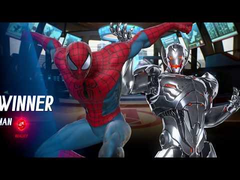 [UK] Marvel vs Capcom: Infinite - Bk4Revenge (Spider-Man/Ultron) vs Mr  E (Chun-Li/Morrigan)