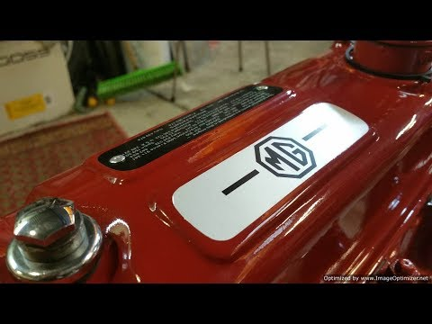 MGB B Series Engine - Re-sealing, Painting and Plating - Part 3