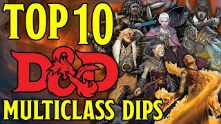 Best Multiclass Dips in Dungeons and Dragons 5th Edition