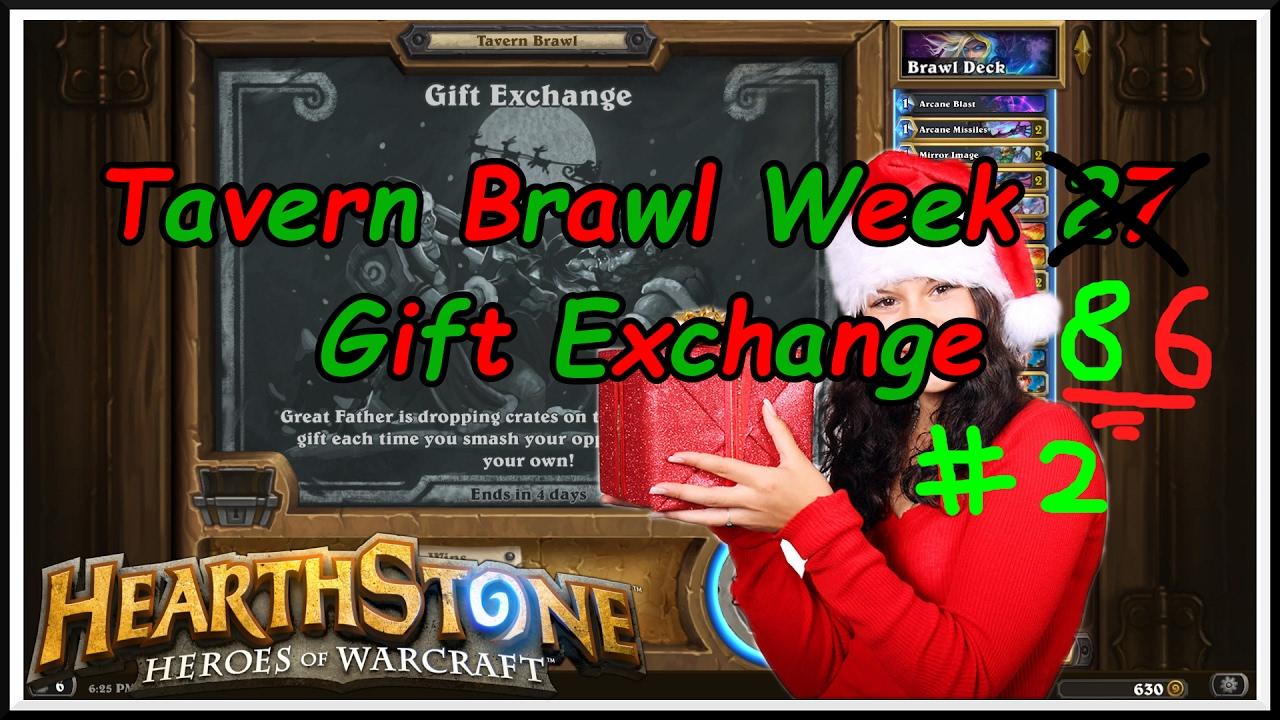 Hearthstone: Tavern Brawl - Gift Exchange Week 85 Again... - YouTube