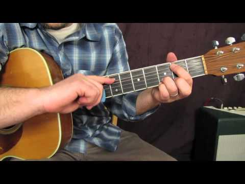 "Guitar Lessons - How to Play ""Blue on Black"" - Kenny Wayne Shepherd"