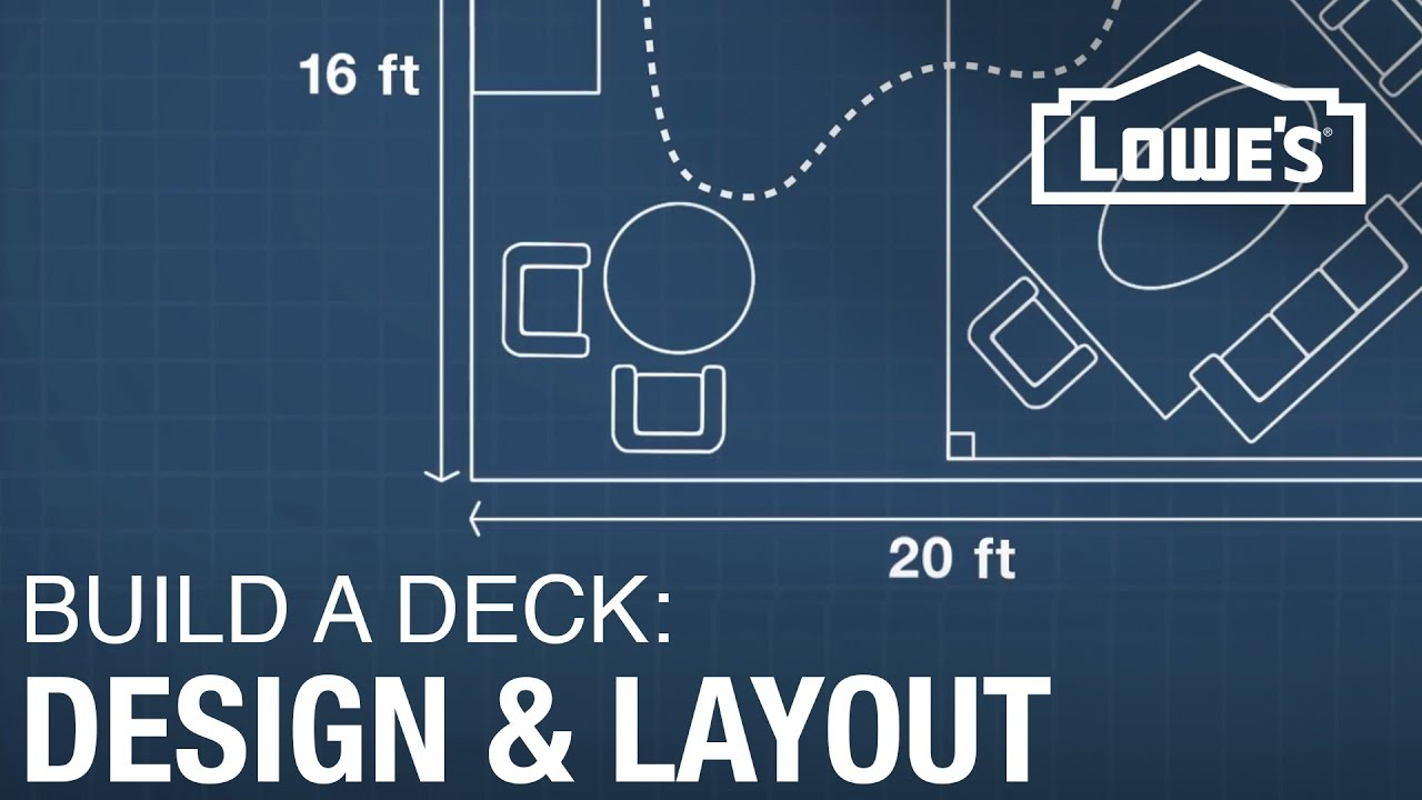 How To Build A Deck Design Layout 1 Of 5 Youtube
