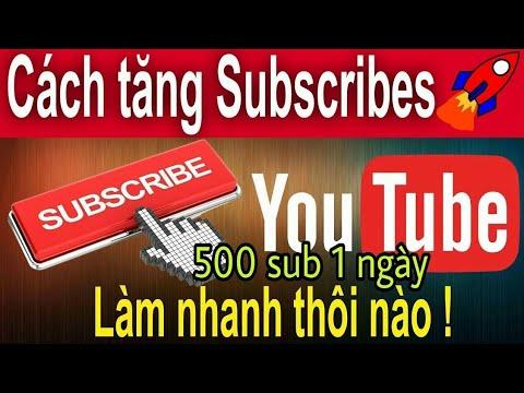 Cách Tăng Sub – Tăng View , Chạy Quảng Cáo Trên Youtube Miễn Phí