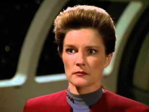 Janeway vs Archon - Star Trek Voyager
