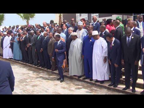 OUVERTURE DU 31È SOMMET DE L'UNION AFRICAIN À NOUAKCHOTT, MAURITANIE