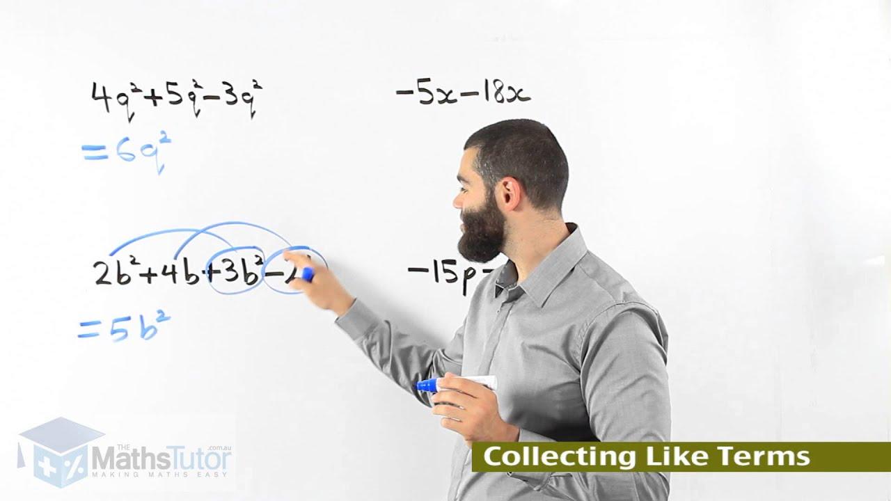 Australia\'s Maths Online - Addition & Subtraction of Algebraic ...