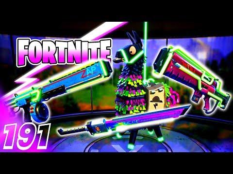 FORTNITE ⚡ Rette die Welt - 10 Sturmlamas + Neon Waffentest ◄#191► Let's Play Fortnite - MaikderIV