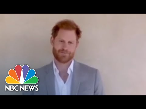 'Institutional Racism Has No Place In Our Societies': Prince Harry Speaks Out | NBC News NOW