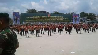 Tari Tao Toba SWK(SakaWiraKartika)di Tj Balai Kodam I/bukit Barisan Yg Diikuti 600 Penari Sumut