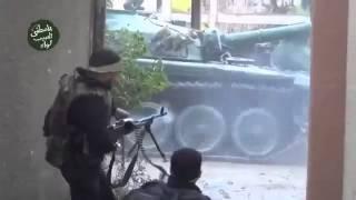 Канал новости  18+ Сирия Трофейные танки в бою Syria captured tanks in battle