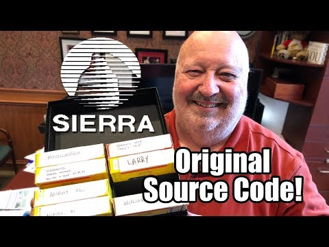 Ex-SIERRA Game Developer is selling Original Source Code! - Leisure Suit Larry, King's Quest & More!