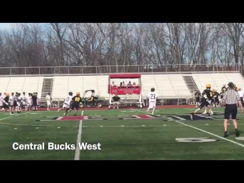 Cabrini Lacrosse Commit Brian Hood Senior Year