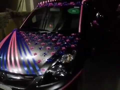 Wedding car decoration | swift desire | By Mo hit 9977829895|