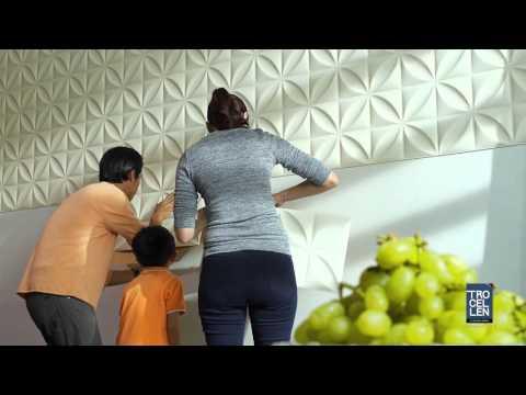 201604 i-Wals 3D Wall Panel DIY Video