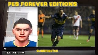 Cristian Pavón | Boca Juniors | Face/Hair/Stats PES2014-17/PSP/WII/PS2