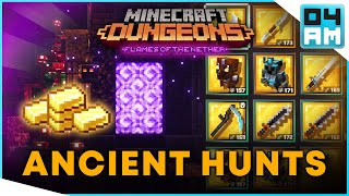 ANCIENT HUNTS GUIDE - Gilded Gear & Gold Farming Basics in Minecraft Dungeons
