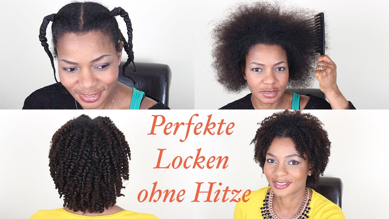 nat rliches afro haar tutorial perfekte locken ohne hitze styling pauline walter youtube. Black Bedroom Furniture Sets. Home Design Ideas
