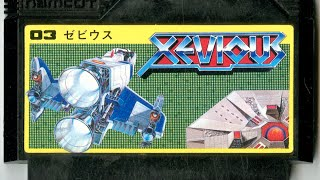 Classic Game Room - XEVIOUS review for Nintendo Famicom